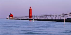 Lighthouse at Grand Haven, Michigan