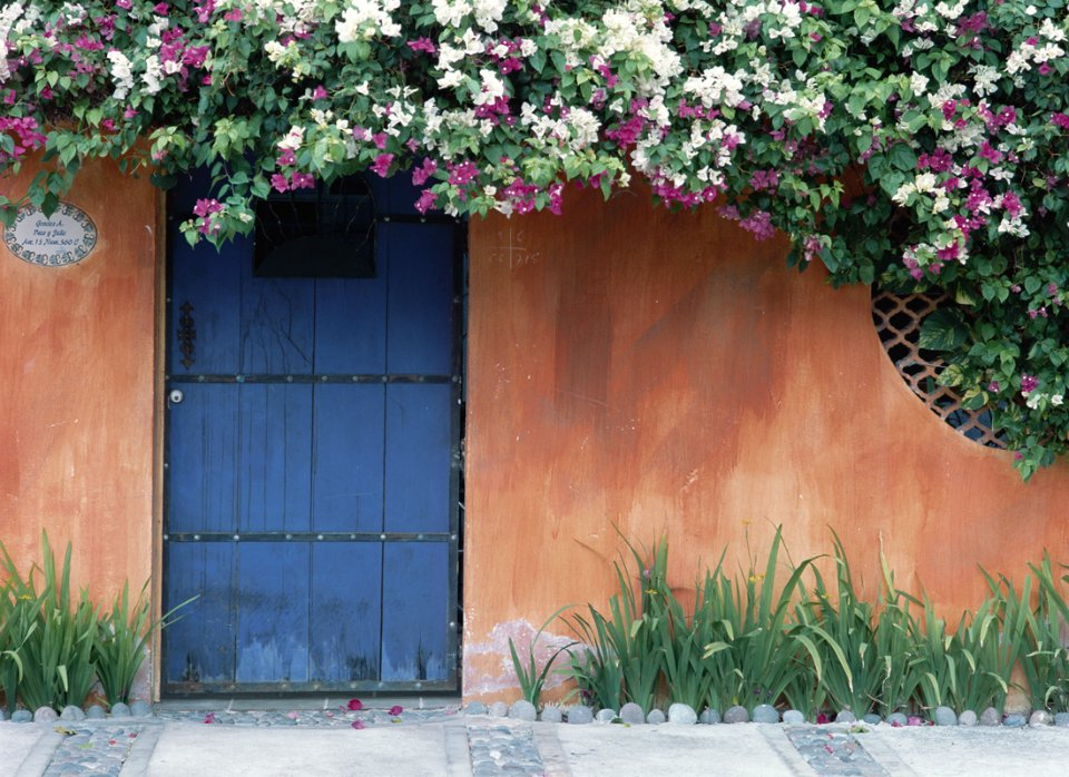 Mexico Blue Door